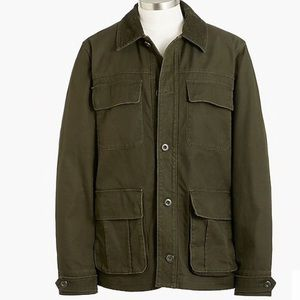 J crew mens corduroy collar barn jacket